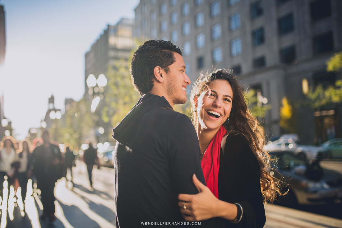 Engagement Session in Boston, MA
